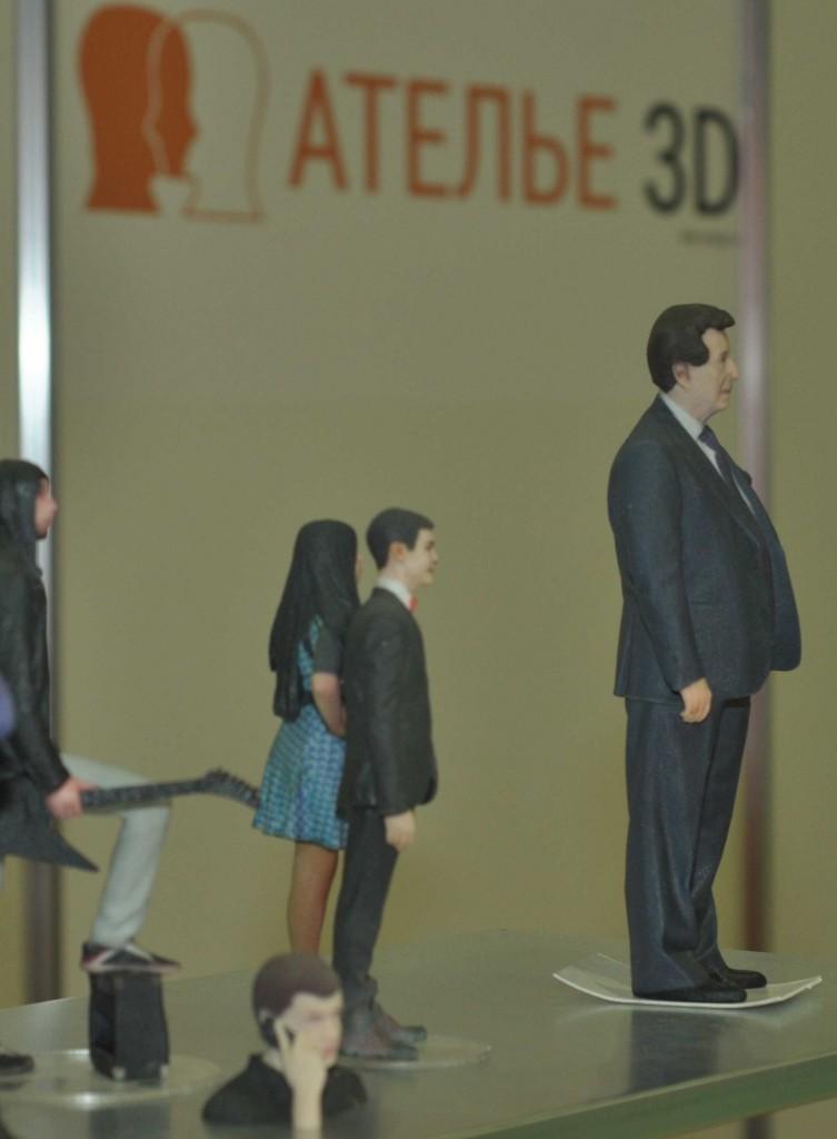 Кто-то идет еще дальше. Например &quot;Ателье 3D&quot; предлагает трехмерное копирование любого предмета, в том числе и человека. В результате <a href=