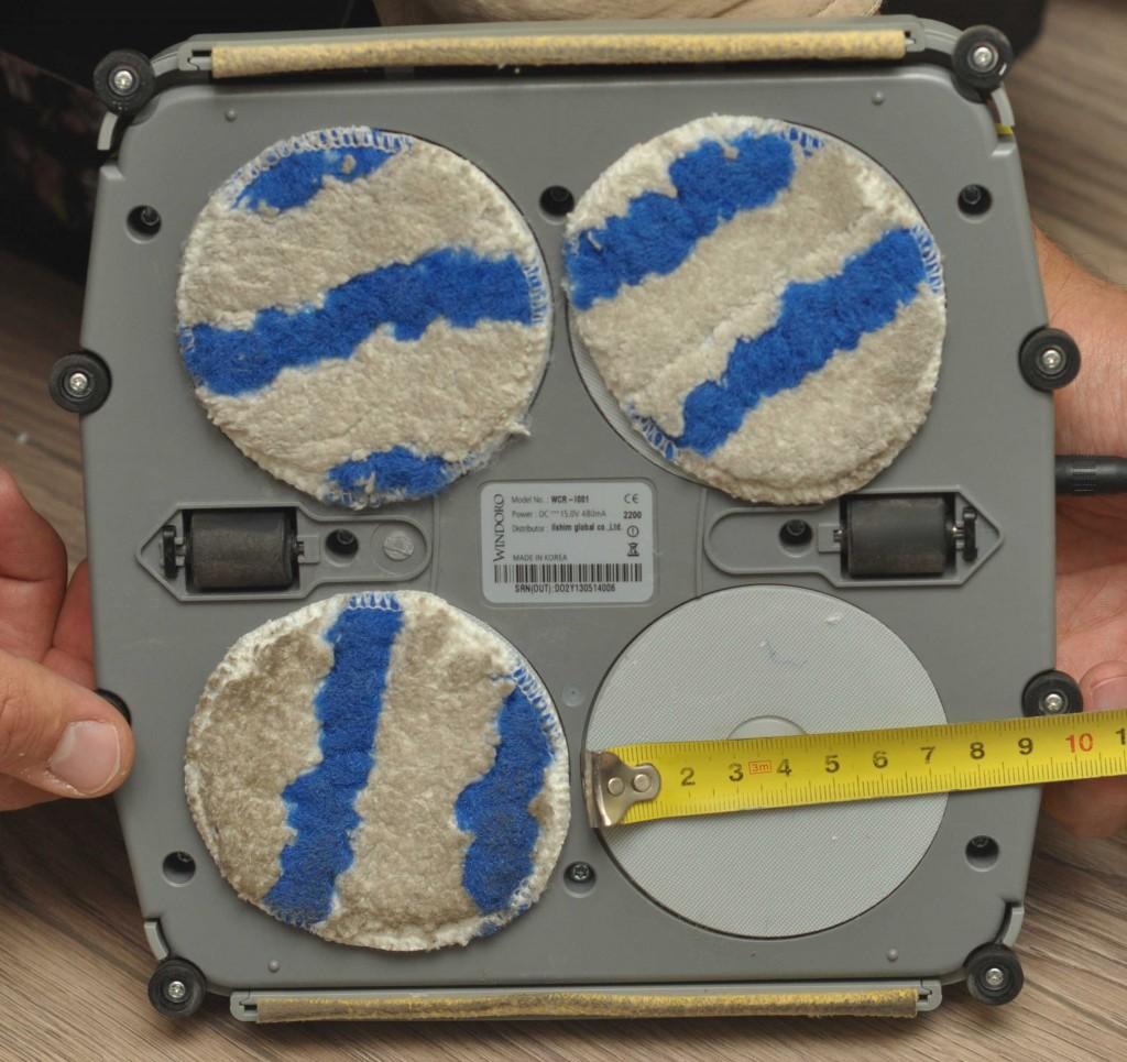 Диаметр дисков у Виндоро