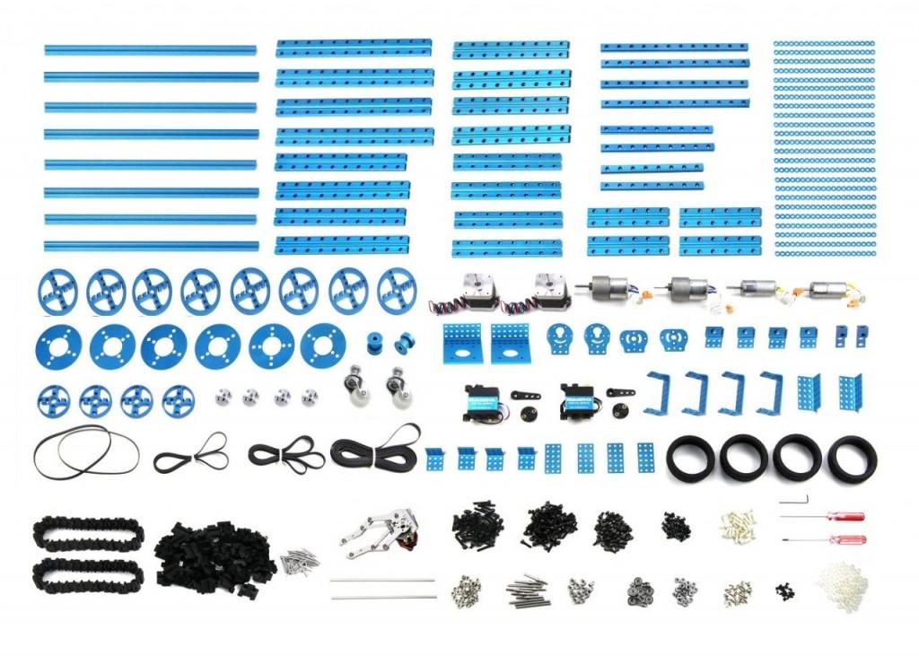 Богатейший набор деталей можно получить в свое распоряжение, купив набор Lab kit