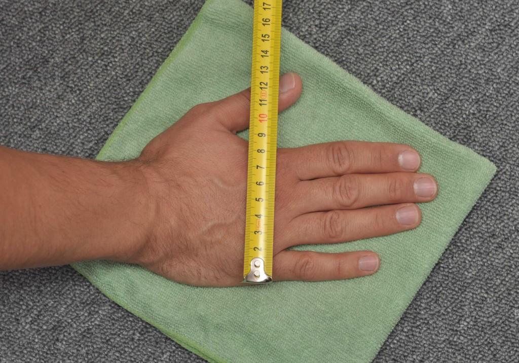 Размер руки 2