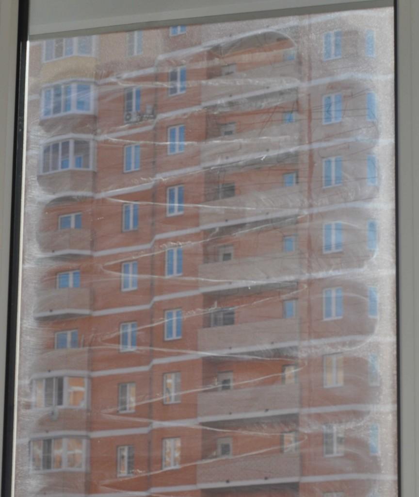 Резальтат чистки сильно загрязненного окна виндоро после двух циклов
