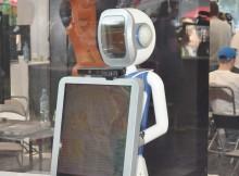 Робот Леночка