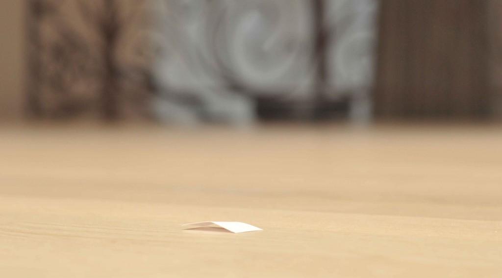 Измерение процента убранной площади будем производить через количество собранных кусочков бумаги.