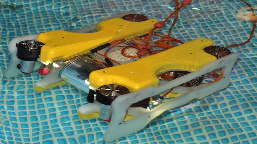 Компактные, дистанционные управляемые аппараты для изучения подводного мира тоже весьма необходимы.